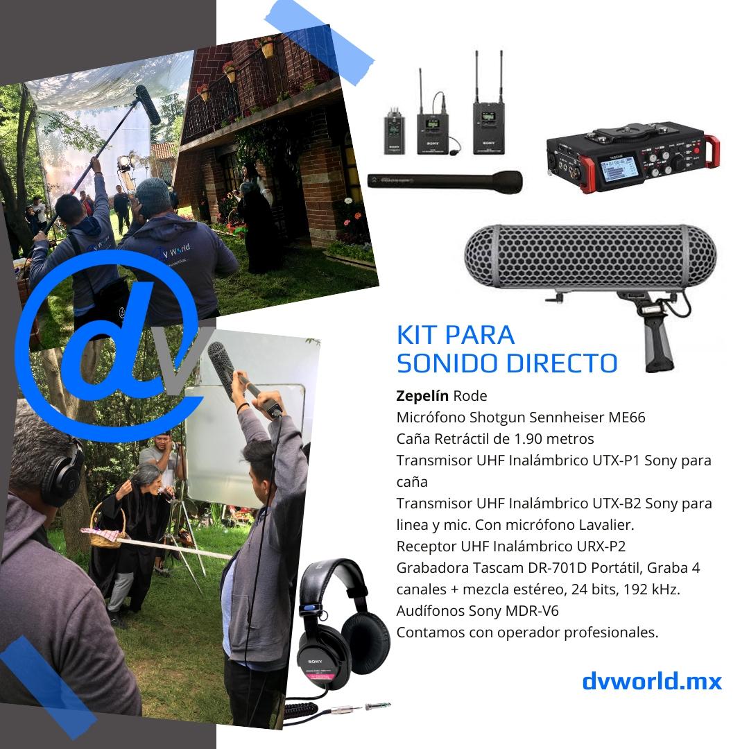DV-KIT-SONIDO – Publicación de Instagram